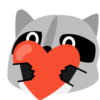 :blob_raccoon_heart: