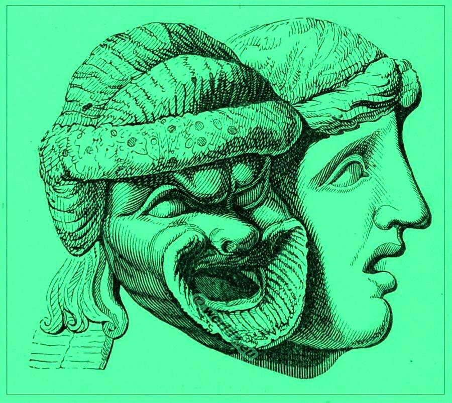 Green masks]